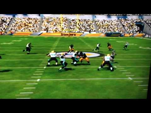 Madden 25: Luckiest Catch Ever!! Jaguars VS. Steelers.  Catch by Ace Sanders #18