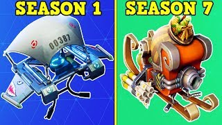 RANKING EVERY BATTLE PASS GLIDER FROM WORST TO BEST! (Fortnite Battle Royale!)