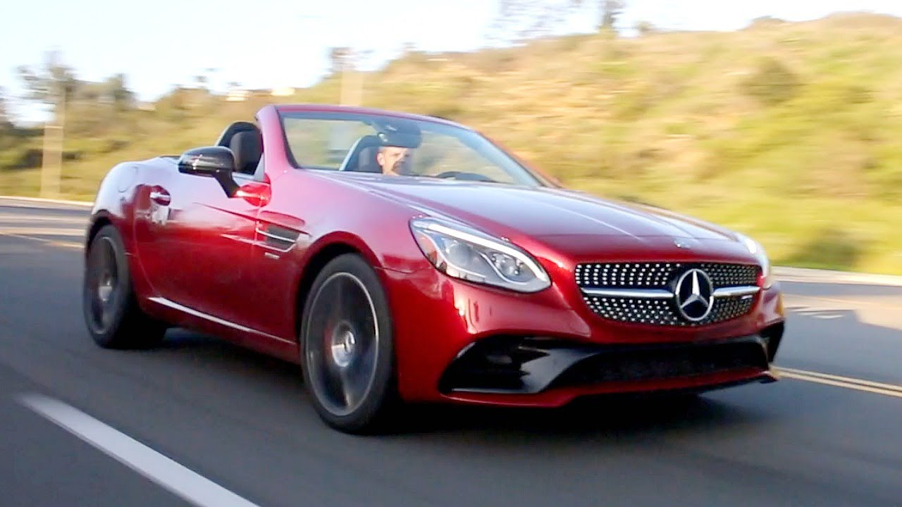 2017 Mercedes Benz Slc Review And Road Test Youtube