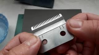 Как правильно наточить ножи машинки для стрижки волос