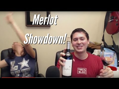 Merlot Showdown! Robert Mondavi, Bonterra, L'Ecole Blind Taste Test Wine Review