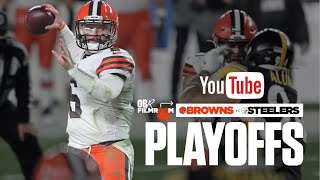 Baker Mayfield Wildcard Film Review vs Steelers