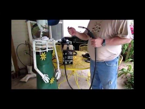 Goplus® MIG 130 Welder Flux Core Wire Automatic Feed Welding Machine