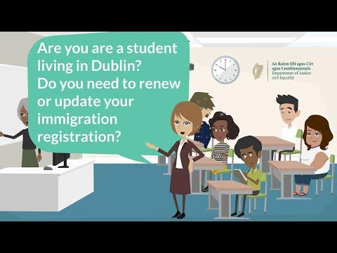 Online Registration Renewal System for Dublin-based non-EEA students