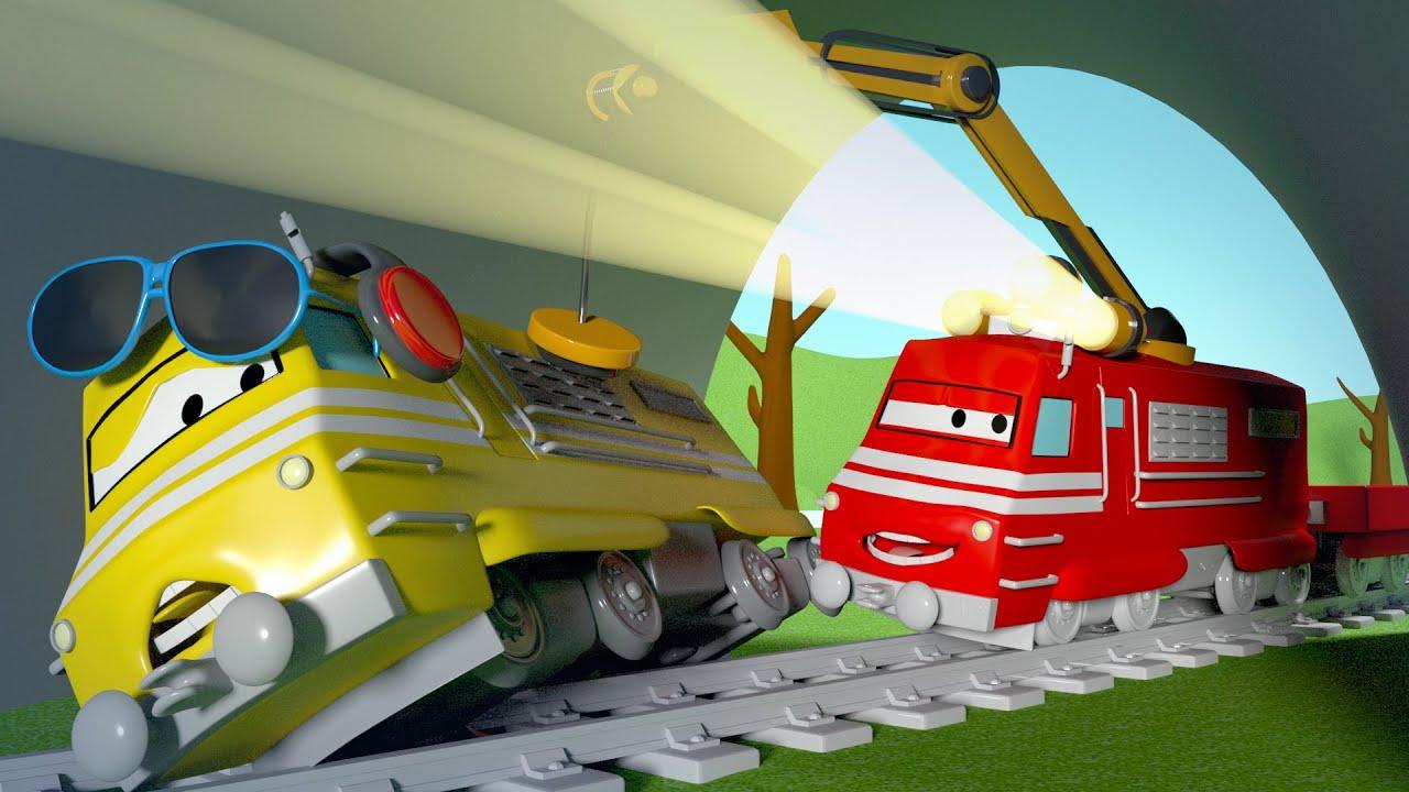 Xe lửa Troy - Kính mát của Taylor - Thành phố xe