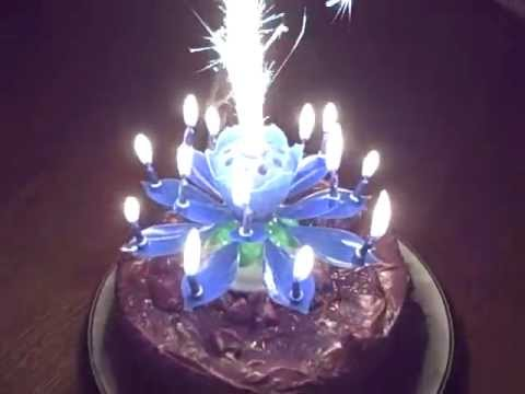 Most Amazing Birthday Candle Ever YouTube