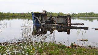 Подъём Судна из реки Волхов