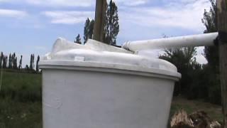 Riego en  Espárragos con cinta exudante a baja presión