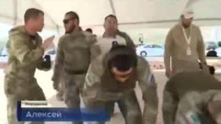 Российский спецназ получает награды  Новости России Сегодня Мировые Новости 25 04 2015
