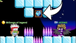 LEGENDARY vs OWNER OF THE HARDEST PARKOUR WORLD (ULTIMATE PRIZE) | Growtopia