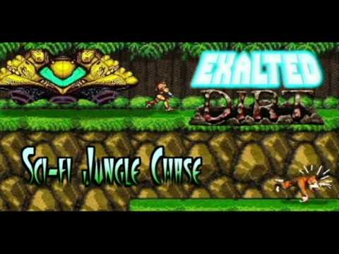 Sci-fi Jungle Chase