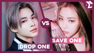 [KPOP GAME] ULTIMATE SAVE ONE DROP ONE K-POP SONGS (VERY HARD) [30 ROUNDS + 2 BONUS ROUND]