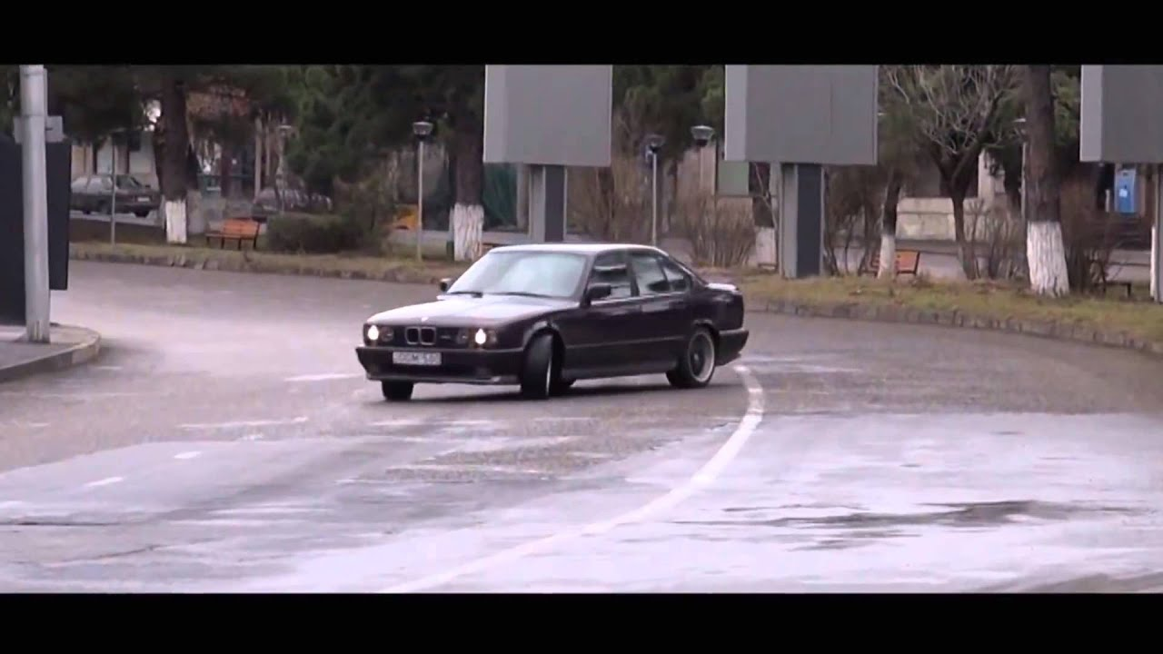 Bmw M5 E34 3 8 Illegal Street Racing And Drift Hd 1080p
