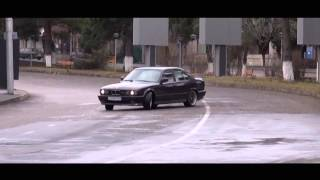BMW M5 E34 3.8 ILLEGAL Street Racing and Drift HD 1080p