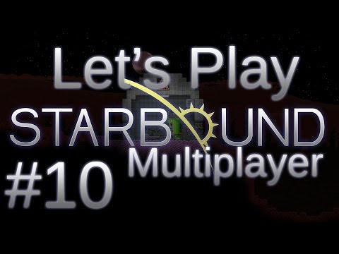 Let's Play Starbound (part 10 - Coal-Powered Ship [blind])