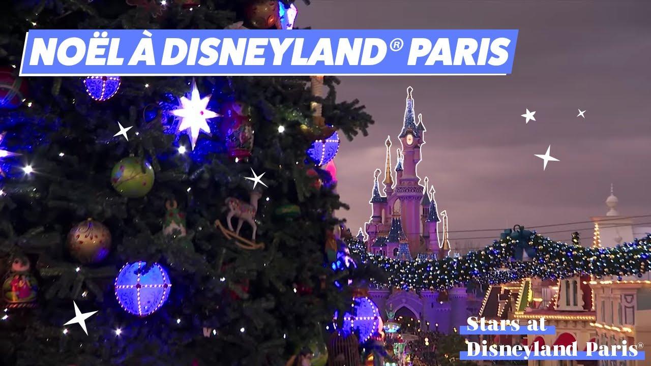 C Est Deja Noel A Disneyland Paris Youtube