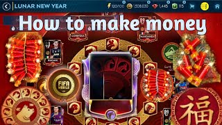 The best event to make money - Lucky Lunar new year packs! How to get easy coins in FIFA Mobile 19