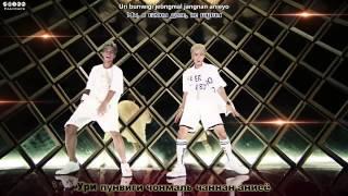Teen Top - Rocking rus sub + rom + translation [aegisub karaoke effect]