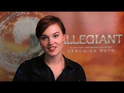Author Veronica Roth on ALLEGIANT