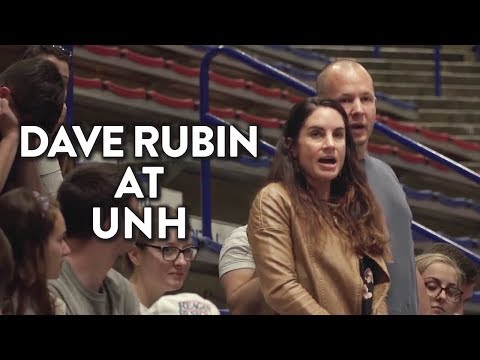 Dave Rubin Handles Protesters at University of New Hampshire (FULL VIDEO)