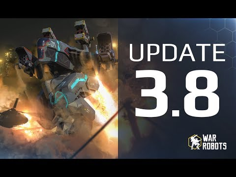 War Robots UPDATE 3.8 🔥 - ULTIMATE GUIDE 🔥 new map, new robots, new weapons, WR event