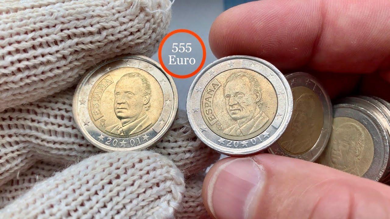 2 euro rare 2001 Spain ESPAÑA