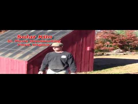 Wood Drying Solar Kiln   Bill St  Pierre 10 26 14