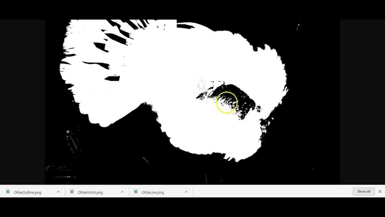 Using RapidResizer & SCAL4 for creating image stencil ScanNCut Jen Blausey
