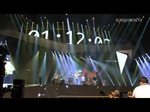 Rambo Amadeus - Euro Neuro (Montenegro) Impression Of 1st Rehearsal 2012 Eurovision Song Contest