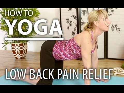 Yoga for Beginners - 8 Minute Lower Back Pain Relief Yoga Flow