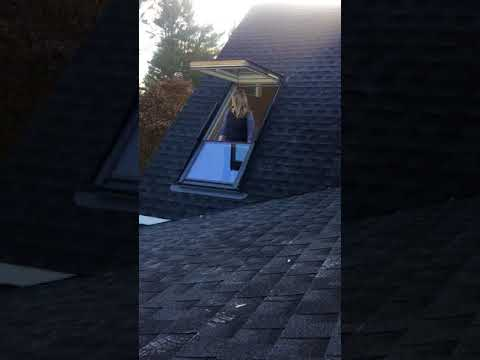 Closing The Velux Cabrio Balcony Roof While Also Showcasing Your Beautiful Hair