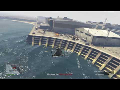 GTA 5 - Gunrunning resupply - Rival Operation at LSIA