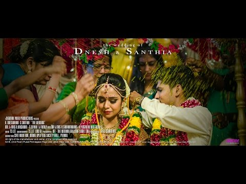 Pookkalae  // Beautiful Indian Wedding of Dnesh & Santhia by Digimax Video Productions