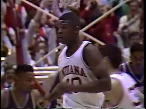 Indiana Vs Northwestern - 3/4/1993 - Calbert Cheaney Breaks Both Records