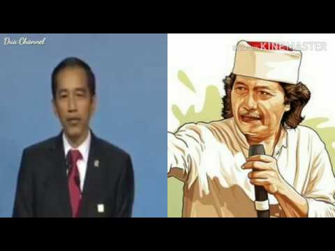 JOKOWI Vs Cak NUN @ Video VIRAL WhatsApp