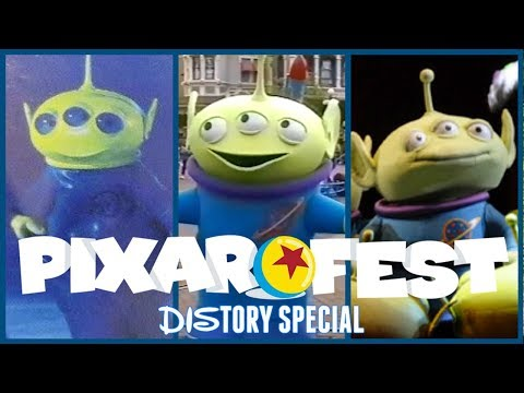 Evolution Of Toy Story Alien In Disney Parks! Pixar Fest Special DIStory Ep. 18! Disney History!