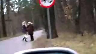 karawanem dziwki w Łodzi