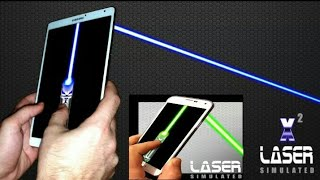 X2 laser pointer simulator for mobile phone and tablet android App Review screenshot 3