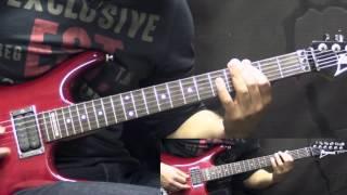 Death - Suicide Machine - Metal Rhythm Guitar Lesson (w/Tabs)