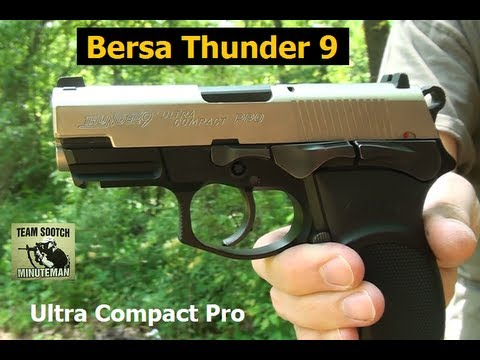 Bersa Thunder 9 Pistol