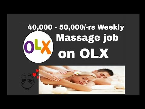 Earn 50,000/-rs In Part Time Massage Job Weekly Or Monthly?