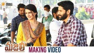 Majili Movie Making Naga Chaitanya Samantha Divyansha Shiva Nirvana Shine Screens