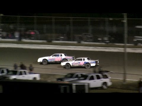 V8 Thunder Stocks Iron Man Round 5 - Volusia Speedway Park 12-3-16