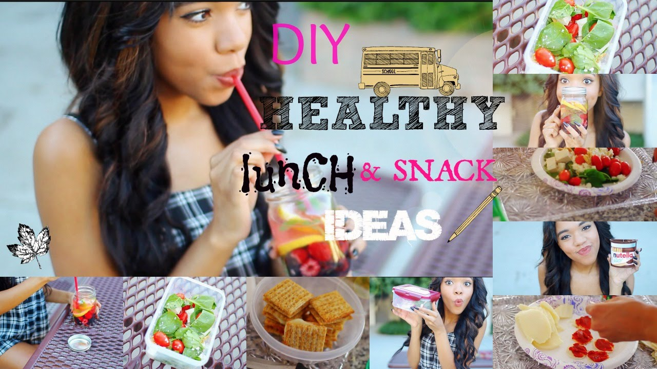 Healthy diy lunch ideas for school quick and easy youtube forumfinder Choice Image
