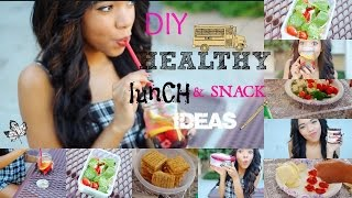 Healthy DIY Lunch Ideas for School ♡ Quick and Easy Thumbnail