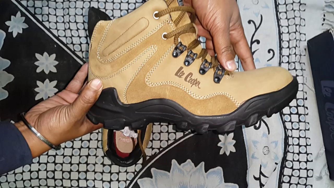 10465c4c922 Lee Cooper Shoes - Men s Outdoor leather Shoes khaki - YouTube