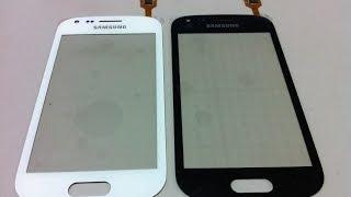 Como trocar tela touch Samsung GT-S7562L