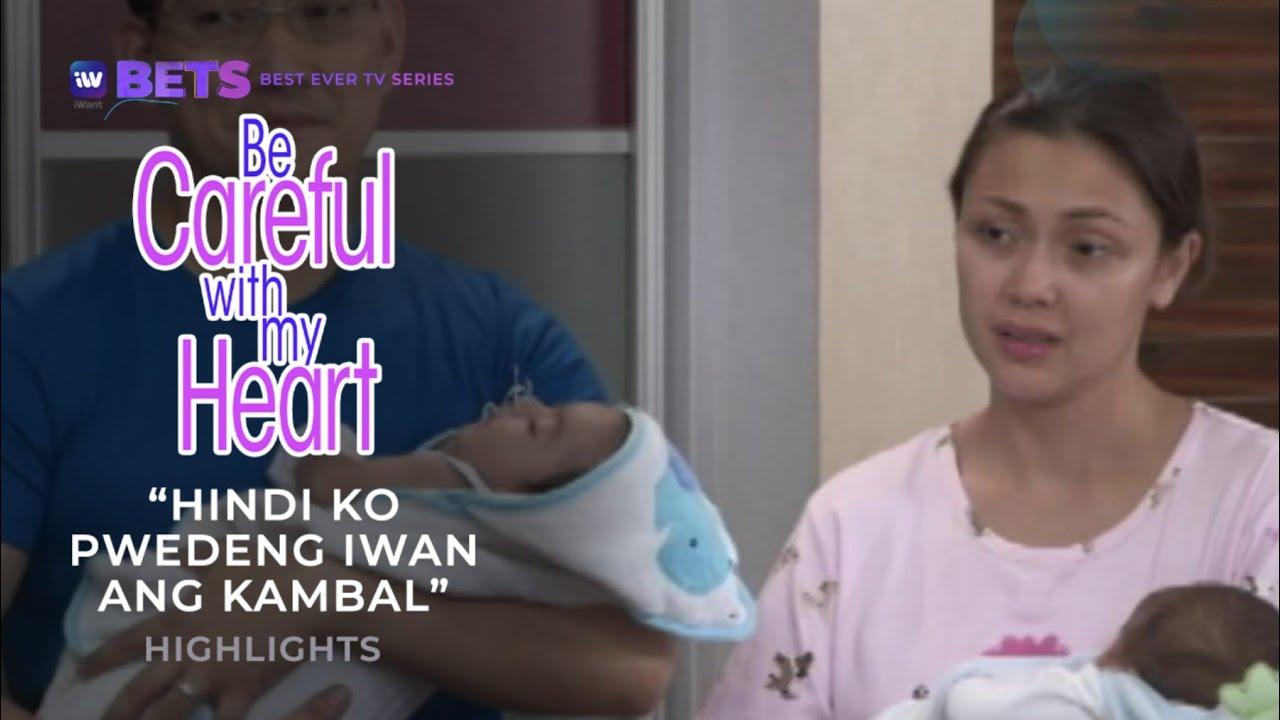 Download Hindi ko pwedeng iwan ang kambal. | Be Careful With My Heart Highlights | iWant BETS