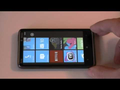 T-Mobile HTC HD7 Software Tour