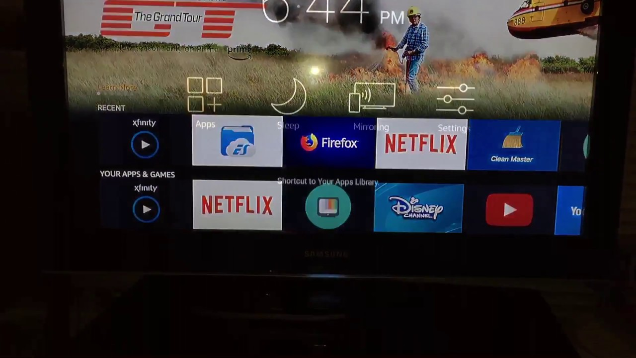 xfinity stream fire stick
